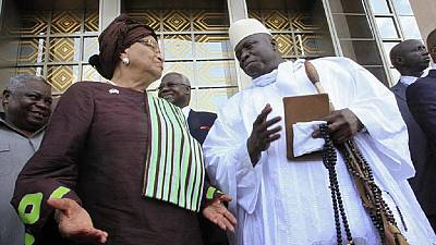 Yahya Jammeh refuse à la présidente de la Cédéao l'entrée en Gambie