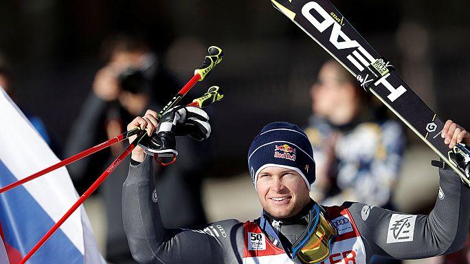 Pinturault giant slalom win ups pressure on Hirscher