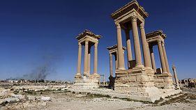 Dáesh vuelve a entrar en Palmira