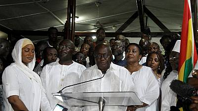Nana Akufo Addo promet d'être le président de tous les Ghanéens