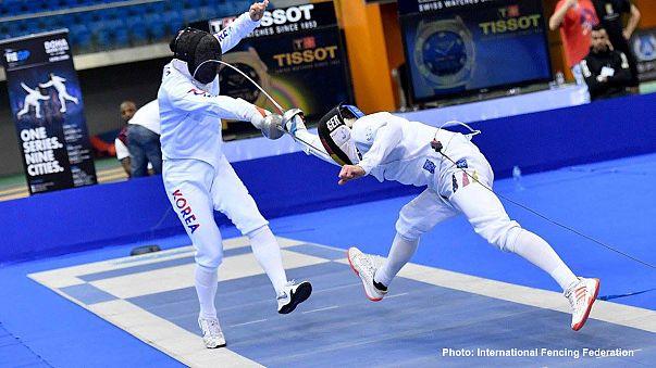 الجائزة الكبرى للمبارزة بالسيوف بالدوحة: الكوري الجنوبي كويون يفوز باللقب