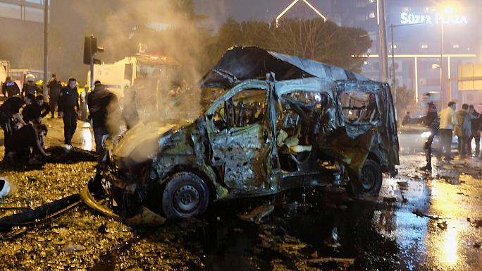 Dozens killed in explosions near Istanbul football stadium