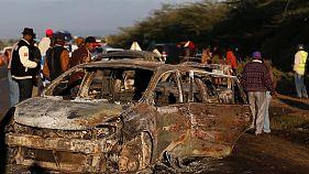 Al menos 40 personas mueren en el choque de un camión cisterna en Kenia