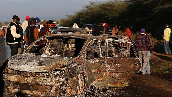 Quénia: 40 mortos em acidente com camião de gás químico