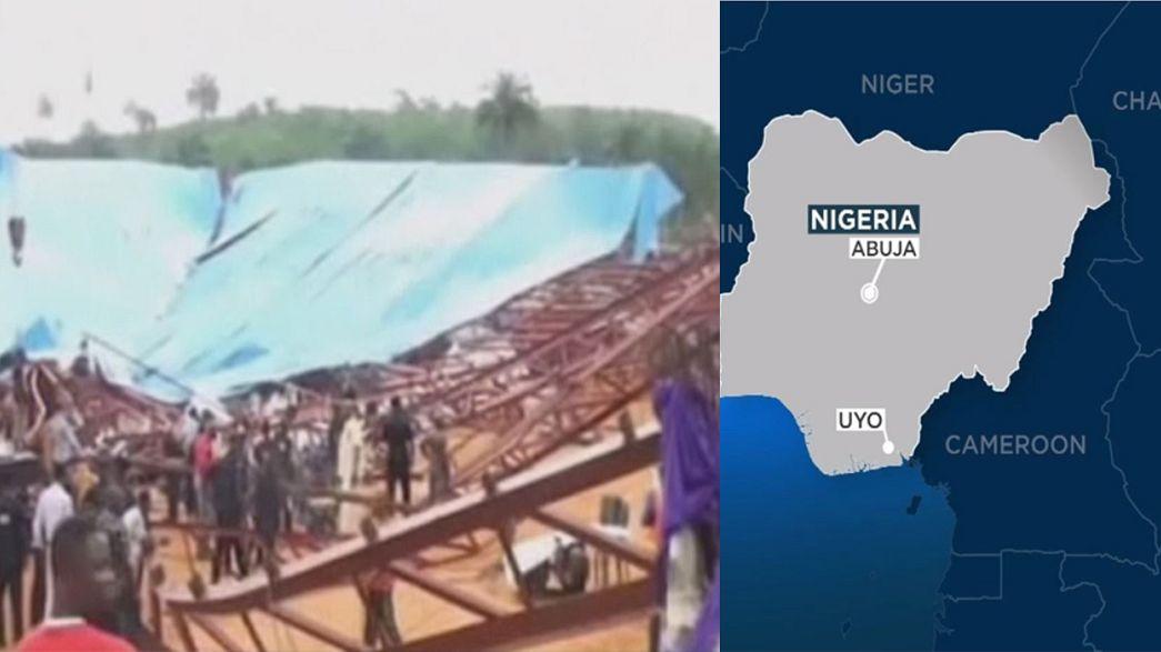 Nigéria: colapso de igreja evangélica faz dezenas de vítimas