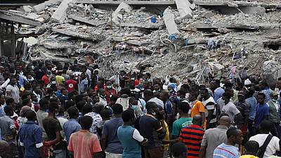 Dozens killed in Nigeria church building collapse