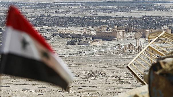Syria: intense battle for ancient city of Palmyra