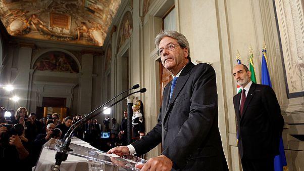 Gentiloni acepta el encargo del presidente italiano para formar un nuevo gobierno