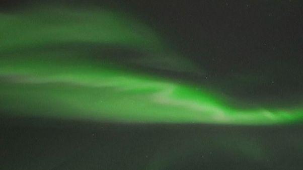 Un cielo mágico en Finlandia