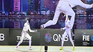 قهرمانی شمشیر باز زن تونسی در گرند پری قطر