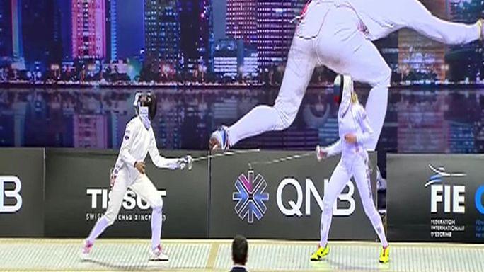 Sarra Besbes estreia-se a vencer em Doha