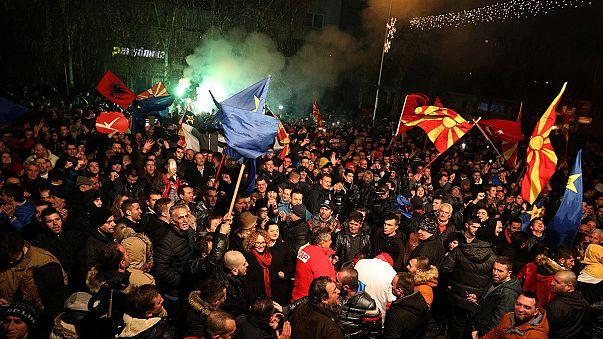 Elecciones en Macedonia con photo finish