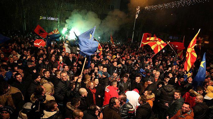 Macedónia: Conservadores vencem eleições sem derrotar oposição