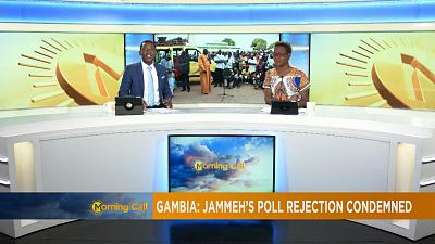 Gambie: condamnations unanimes contre Jammeh