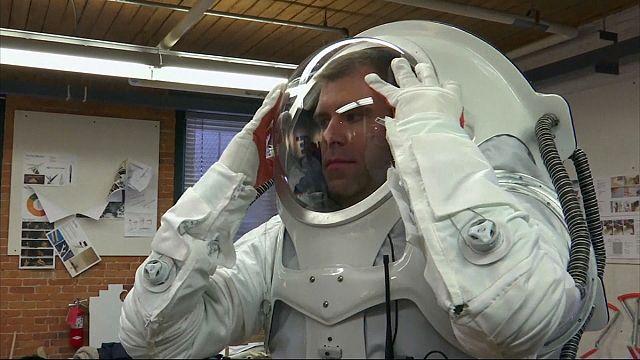 Новый скафандр для миссии на Марс?