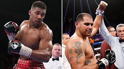 Nigerian-born Anthony Joshua knocks out Molina in third-round