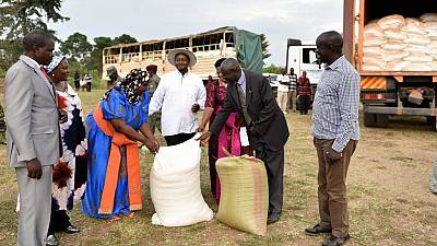 Museveni redirects road funds to support drought-stricken Uganda