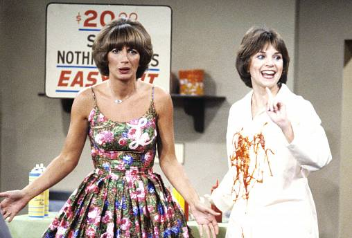 Image: Penny Marshall, left, as Laverne De Fazio and Cindy Williams as Shir
