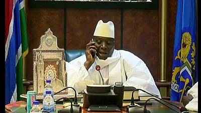 Jammeh can't name election petition judges - Gambia opposition warns