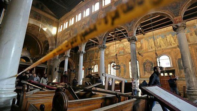 انتحاري وراء هجوم الكنيسة البطرسية في مصر