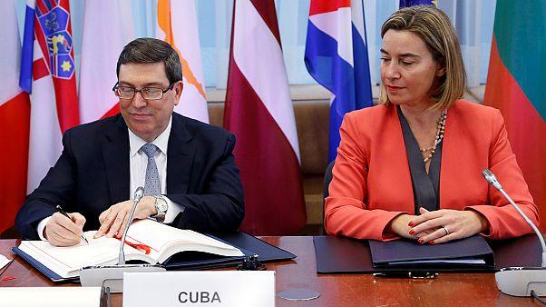 Cuba e União Europeia assinam acordo que normaliza relações