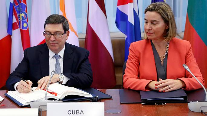AB ile Küba arasında tarihi anlaşma