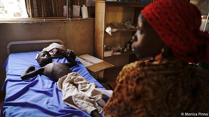 Голод грозит убить до100 тысяч нигерийских детей