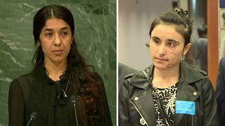 Nadia Mourad et Lamiya Aji Bachar bientôt lauréates du prix Sakharov