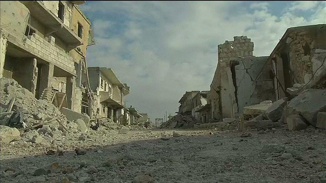 اقتراب معركة حلب من نهايتها مع انسحاب المعارضة من احياء شرقي المدينة