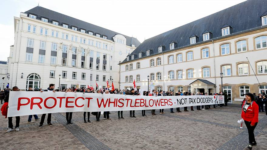 Applaus für Luxleaks-Whistleblower