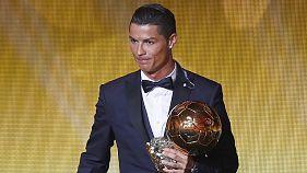 Ronaldo negyedszer is aranylabdás