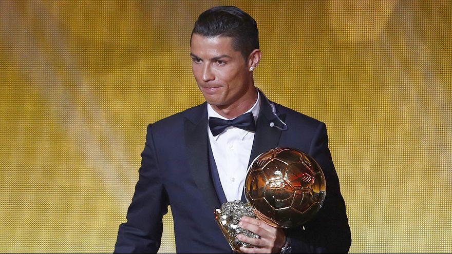 Ronaldo gewinnt den Ballon d'Or zum vierten Mal