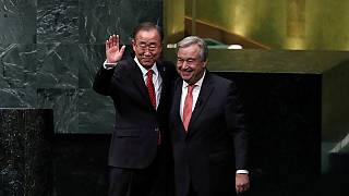 Letette hivatali esküjét az ENSZ új főtitkára