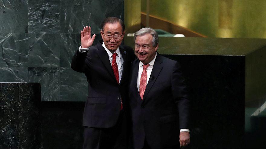 António Guterres sworn in as new UN Secretary General