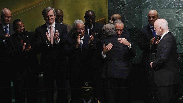 """Presidente Marcelo sobre Guterres: """"Mais nenhum português teria conseguido este êxito"""""""