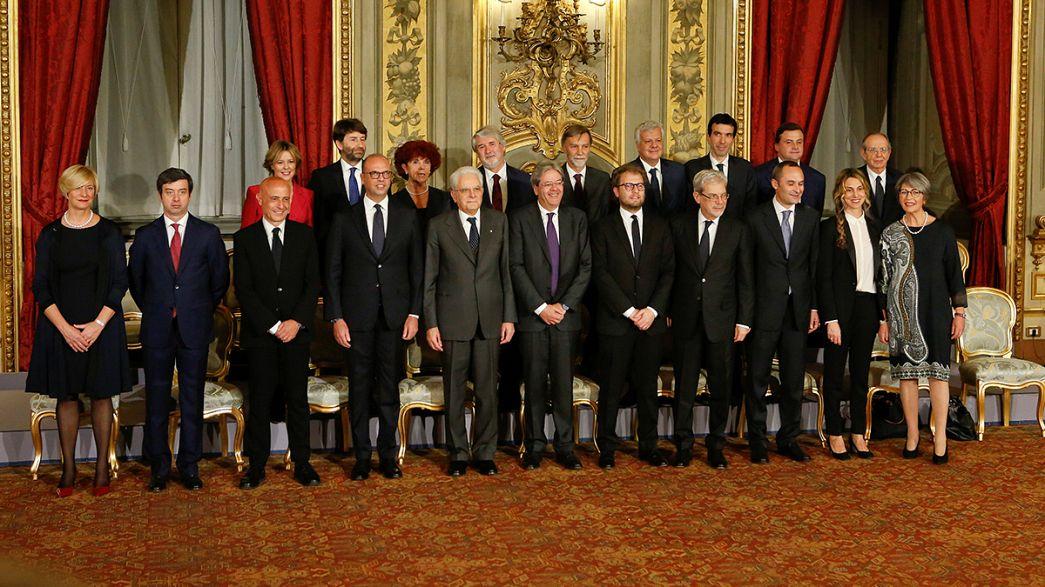 Italie : Paolo Gentiloni dévoile son gouvernement