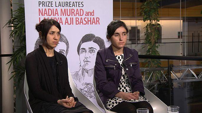 Jesidinnen erhalten Sacharow-Preis des EU-Parlaments