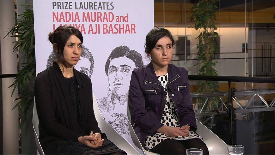 Nadia Murad e Lamiya Aji Bashar recebem Prémio Sakharov esta terça-feira