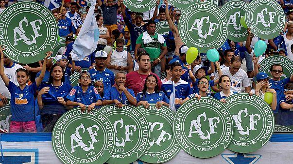 Ultima giornata campionato brasiliano: omaggio al Chapecoense