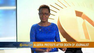 Algérie: protestations après la mort d'un journaliste