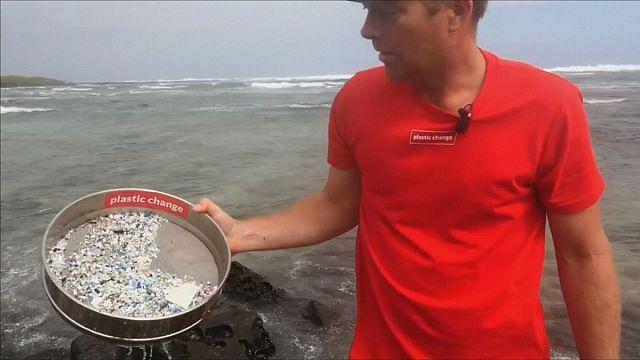 Siguiendo el rastro de los microplásticos en el Oceáno Pacífico