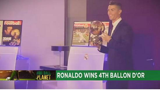 Cristiano Ronaldo beats Lionel Messi to Ballon d'Or 2016  [Football Planet]