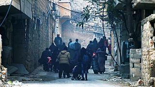Mensajes desesperados desde el este de Alepo