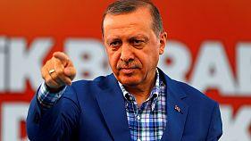 Erdogan, Törökország erős embere