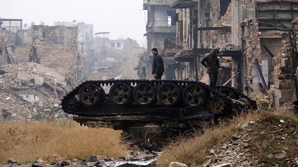 اتفاق هدنة وإخلاء لأحياء شرق حلب