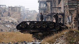La bataille d'Alep vit ses dernières heures