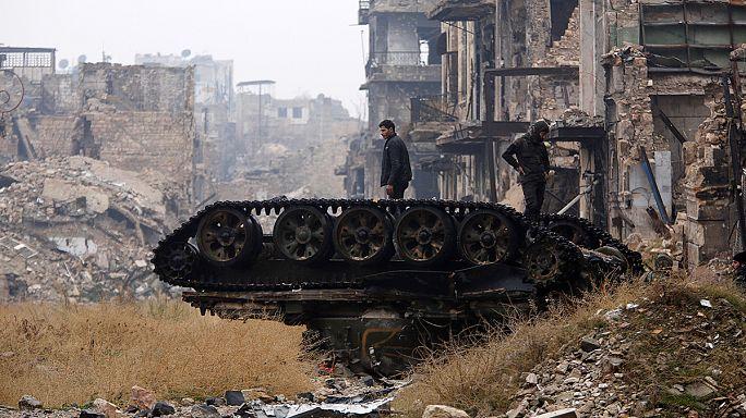 Halep'in doğusunda ateşkes sağlandı