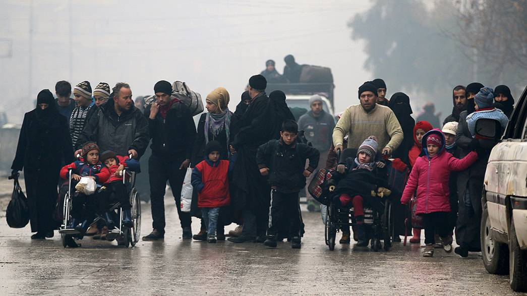 Aleppo: 'A complete meltdown of humanity'