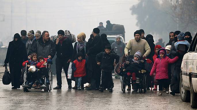 شرایط شهر حلب سوریه در گفتگو با «ینس لارکی»