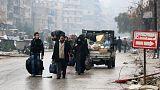 Alto el fuego en la sitiada Alepo para evacuar a civiles y combatientes